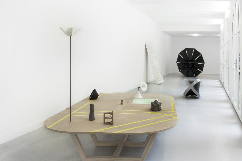 Vue de l'exposition Mute